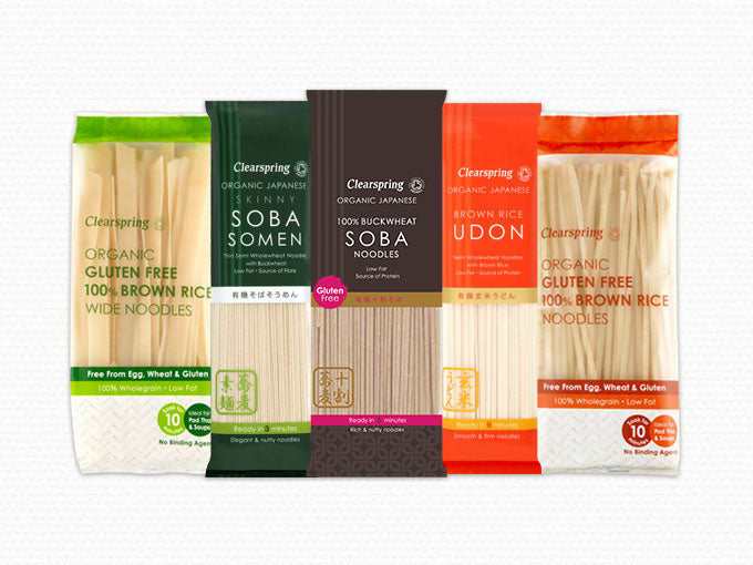 Organic Japanese & Oriental Noodles
