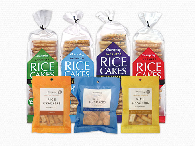 Wheat Free Japanese Rice Cakes & Crackers