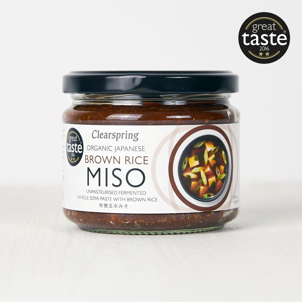 Organic Japanese Brown Rice Miso Paste - Unpasteurised