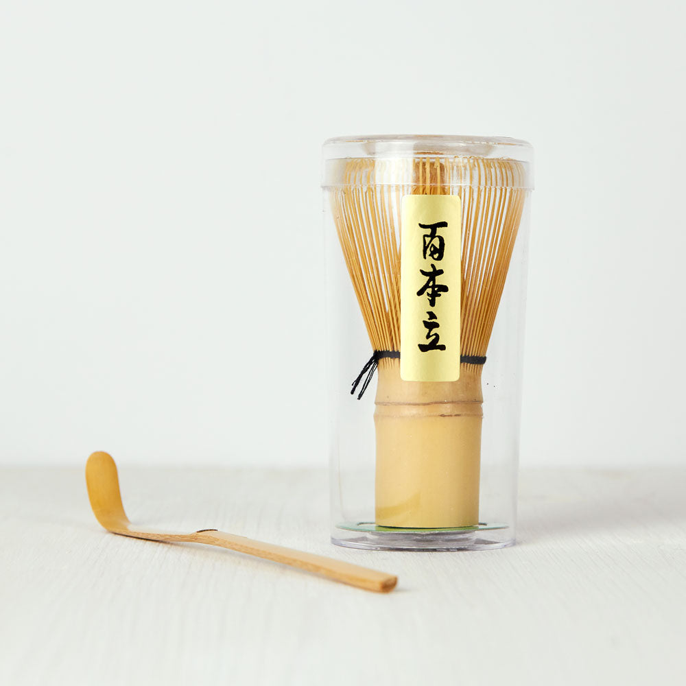 Bamboo Matcha Whisk & Scoop Set