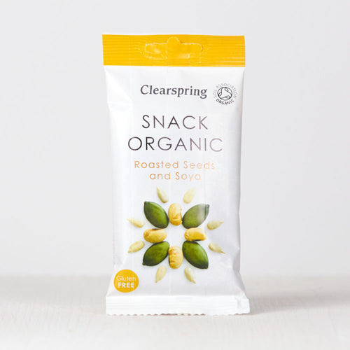 Snack Organic - Roasted Seeds & Soya