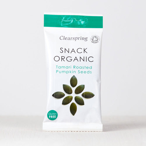 Snack Organic - Tamari Roasted Pumpkin Seeds
