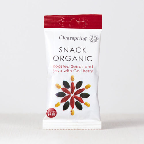 Snack Organic - Roasted Seeds & Soya with Goji Berry