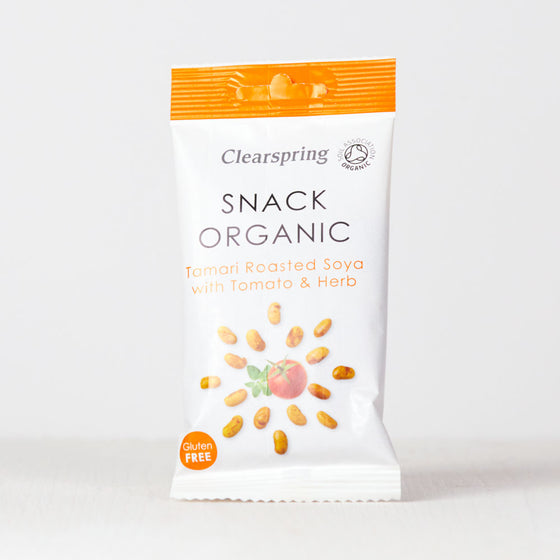 Snack Organic - Tamari Roasted Soya with Tomato & Herb