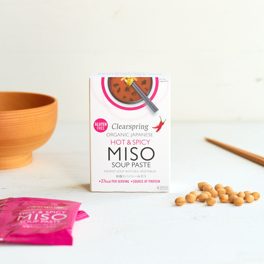 Organic Instant Miso Soup Paste - Hot & Spicy