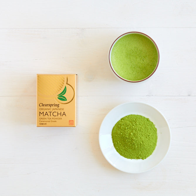 Organic Japanese Matcha Green Tea Powder - Ceremonial Grade