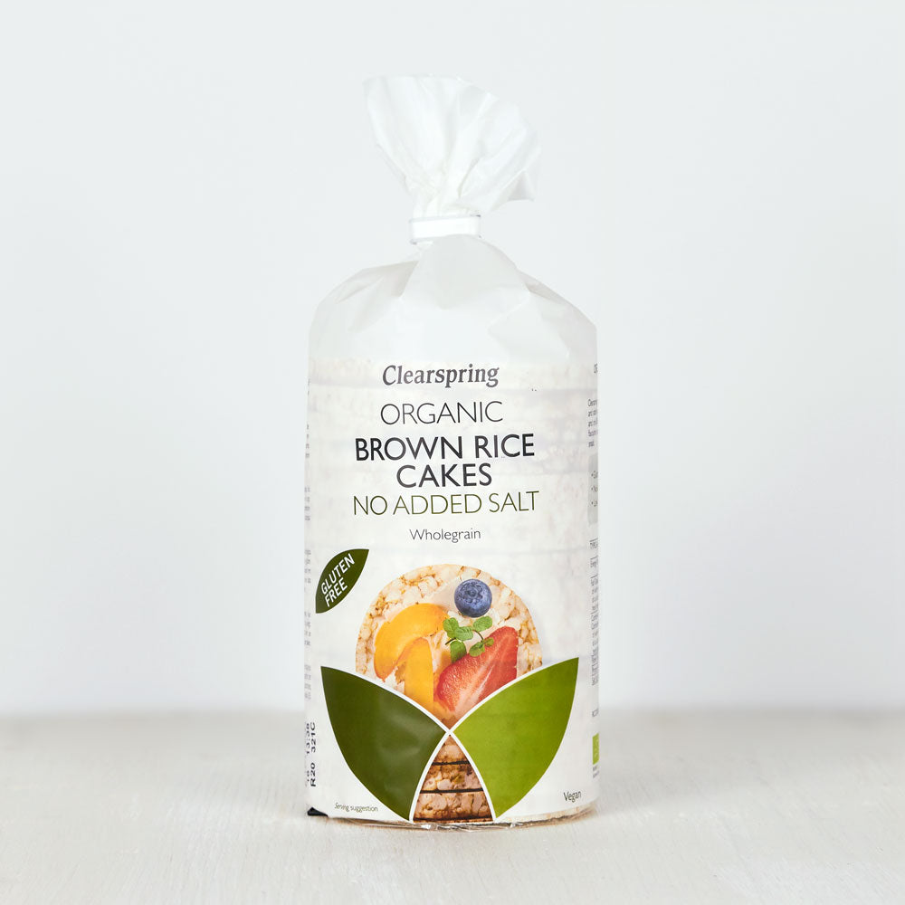 Organic Brown Rice Cakes - No Added Salt