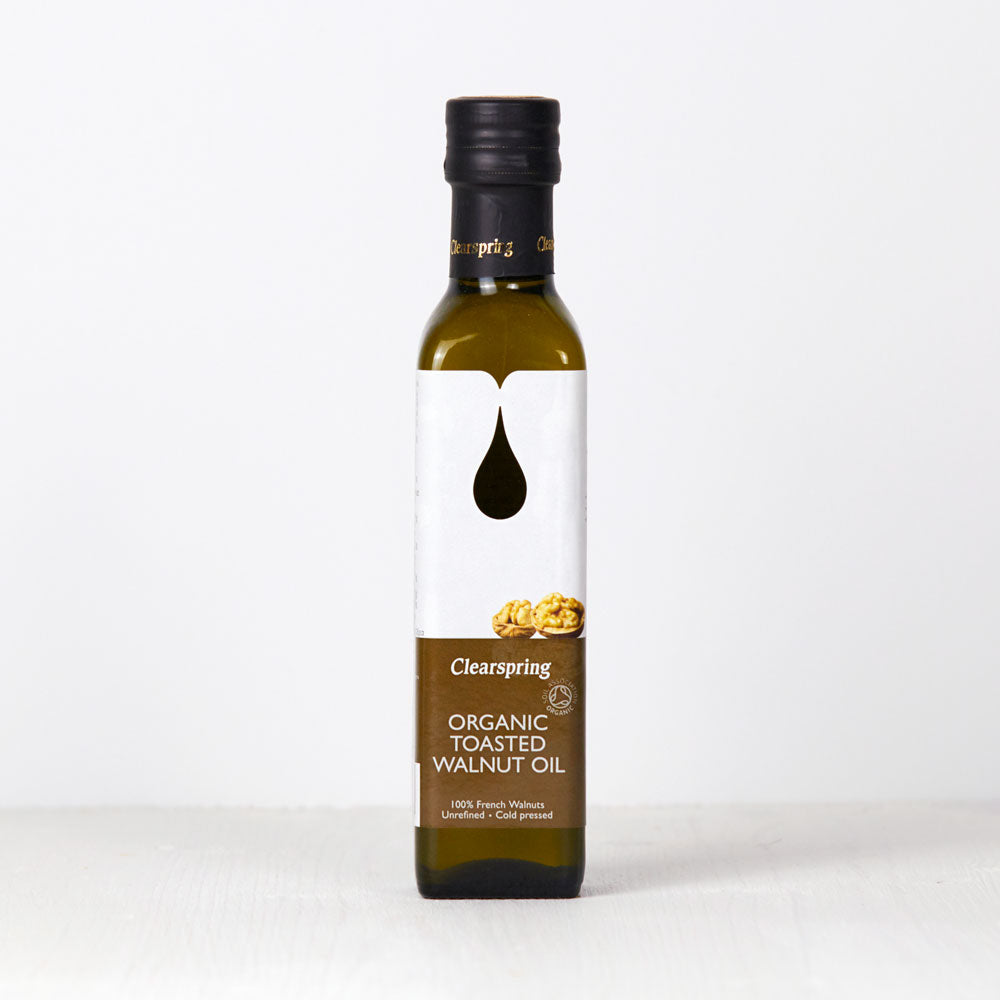 Organic Toasted Walnut Oil - 250ml