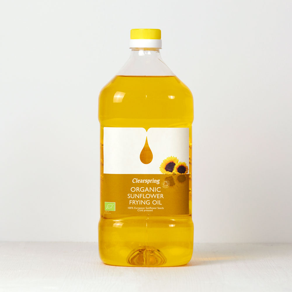 Organic Sunflower Frying Oil