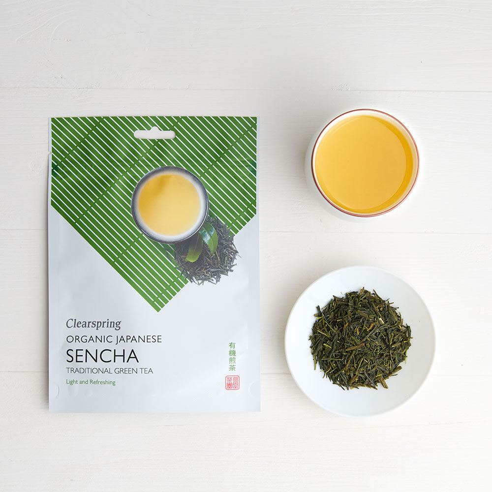 Organic Japanese Sencha Green Tea - Loose Leaf Tea