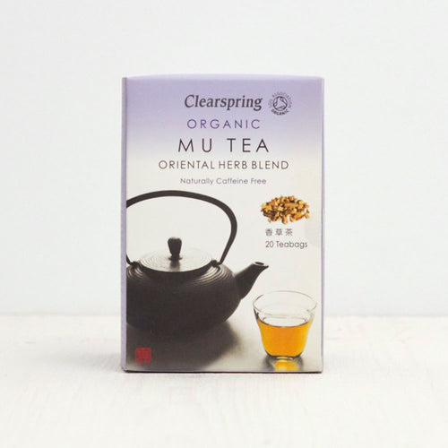 Organic Mu Tea - Oriental Herb Blend - 20 Tea Bags