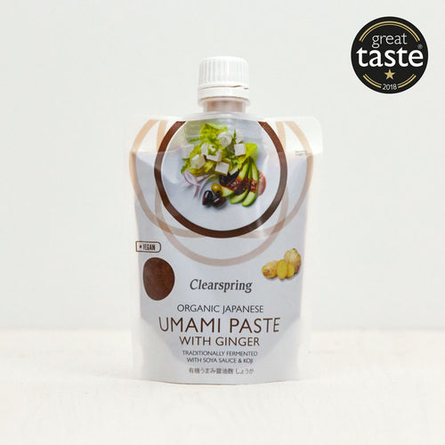Organic Japanese Umami Paste with Ginger