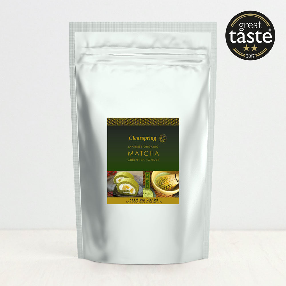 Organic Japanese Matcha Green Tea Powder - Premium Grade