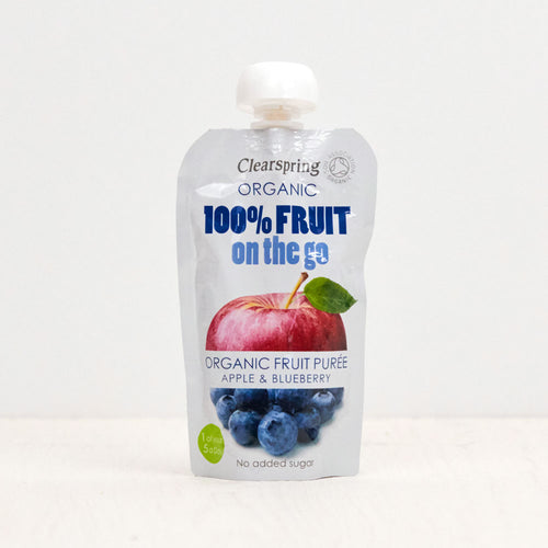 Organic 100% Fruit on the Go - Apple & Blueberry Purée