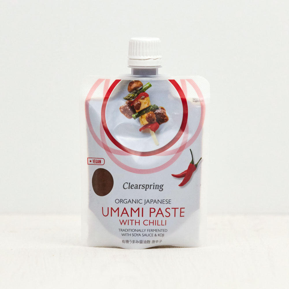 Organic Japanese Umami Paste with Chilli