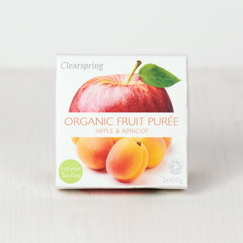 Organic Fruit Purée - Apple & Apricot