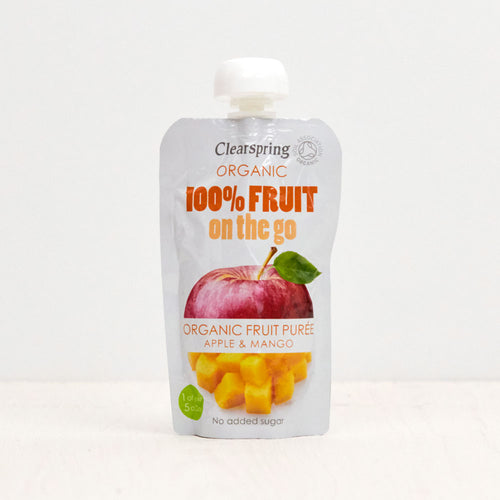 Organic 100% Fruit on the Go - Apple & Mango Purée