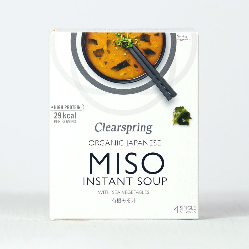 Organic Instant Miso Soup - With Sea Vegetables