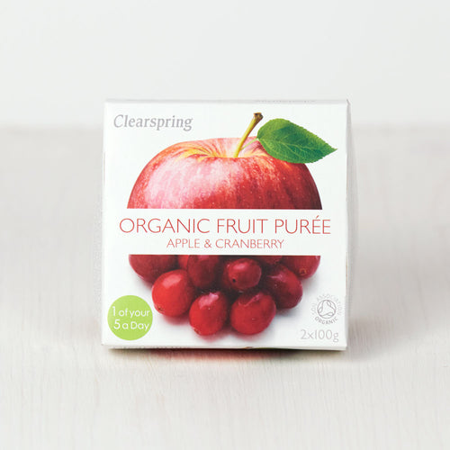 Organic Fruit Purée - Apple & Cranberry