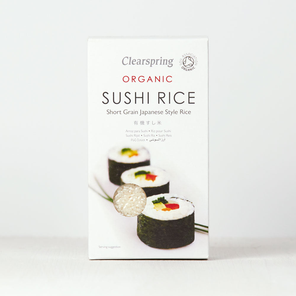 Organic Sushi Rice - Short Grain Japanese Style Rice