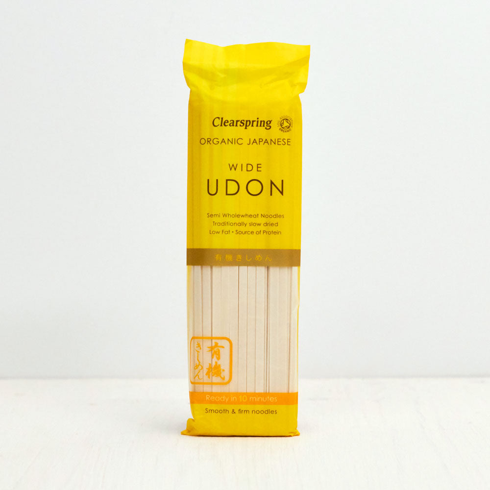 Organic Japanese Wide Udon Noodles