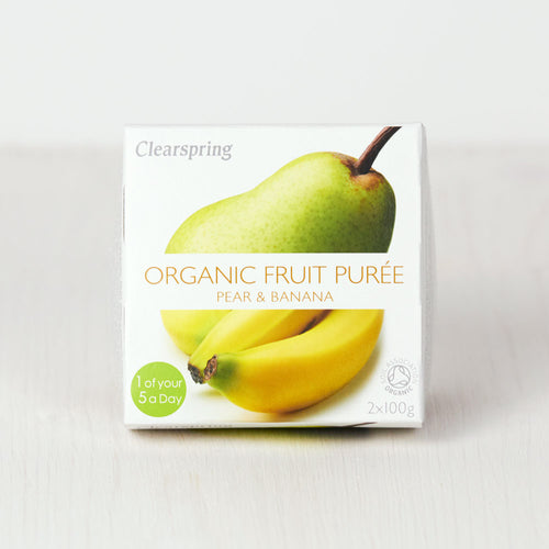 Organic Fruit Purée - Pear & Banana