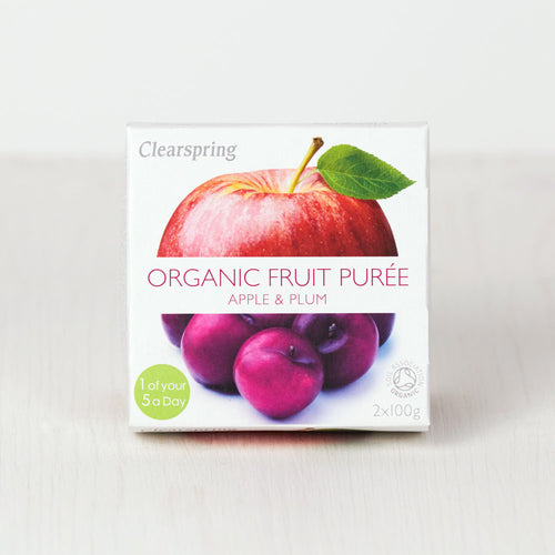 Organic Fruit Purée - Apple & Plum