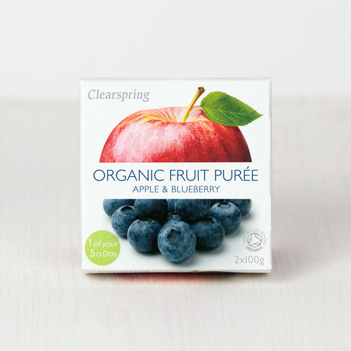 Organic Fruit Purée - Apple & Blueberry