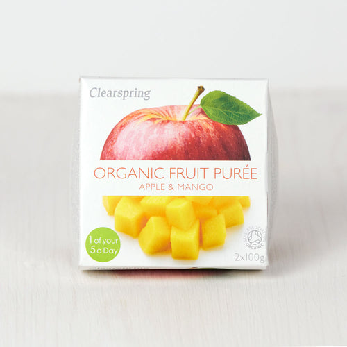 Organic Fruit Purée - Apple & Mango