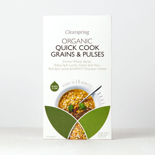Quick Cook Organic - Grains & Pulses