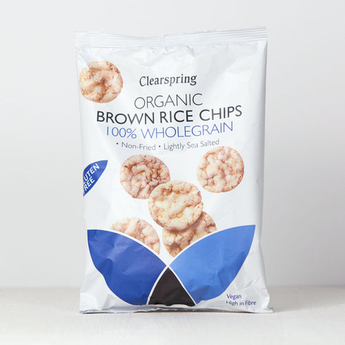 Organic Brown Rice Chips - 100% Wholegrain