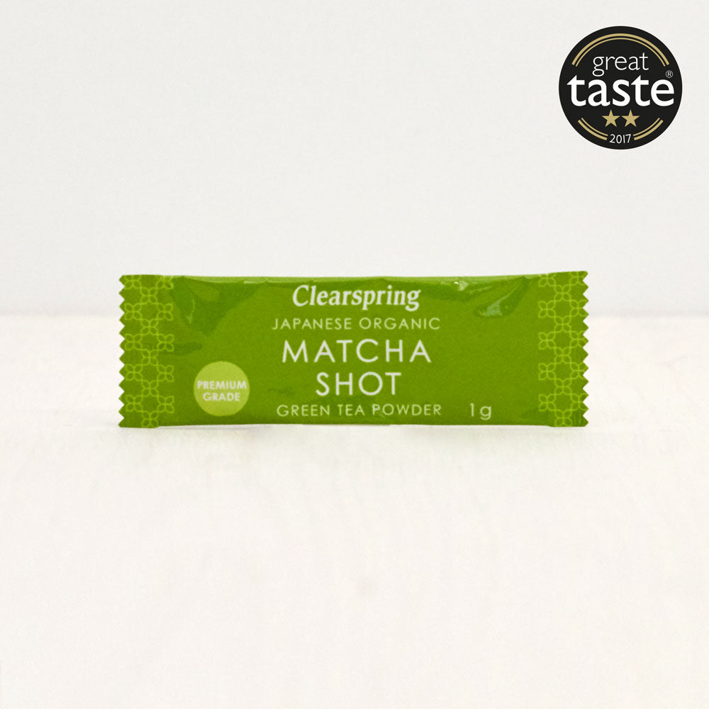 Organic Japanese Matcha Shot - Premium Grade Green Tea Powder