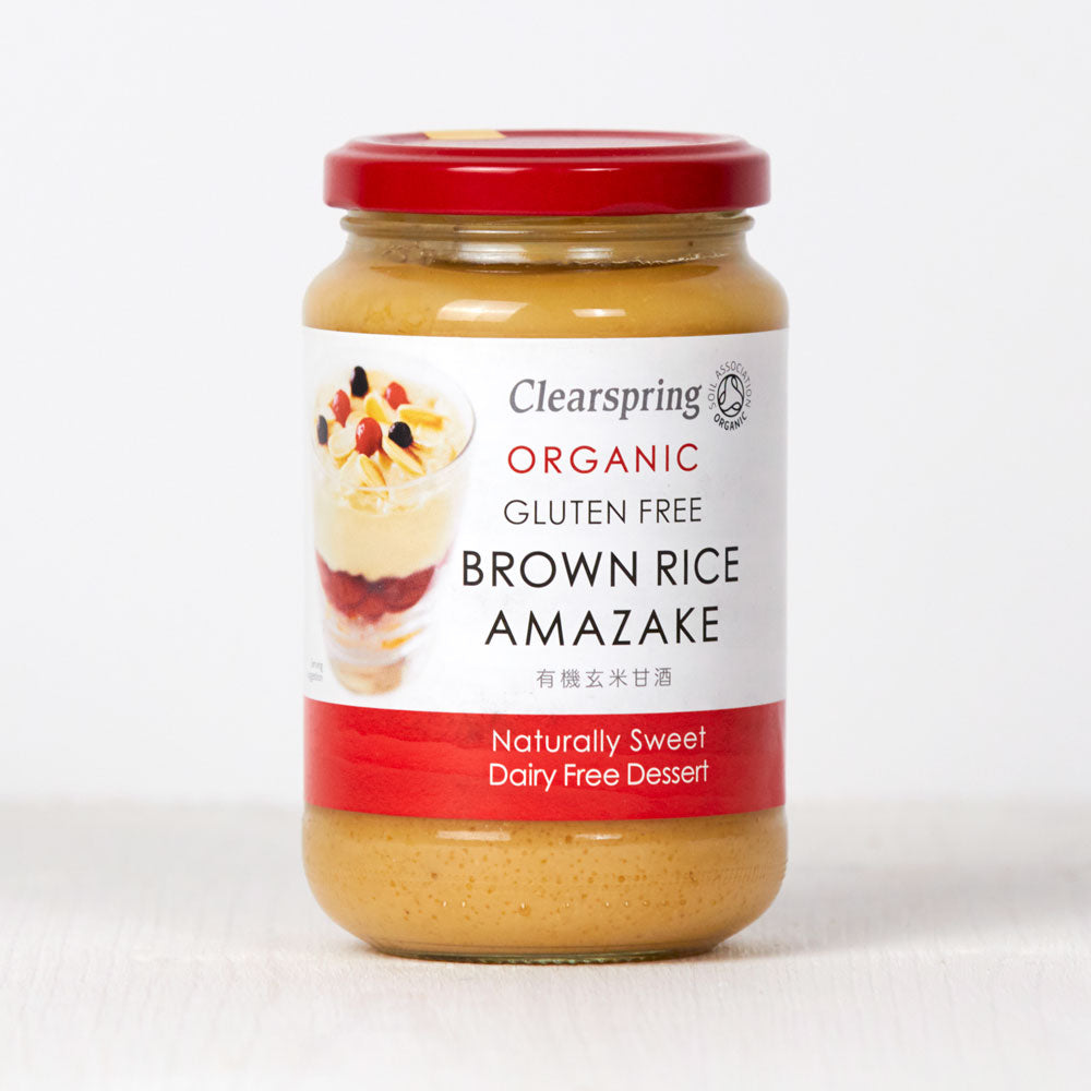 Organic Brown Rice Amazake - Sweet Grains Dessert