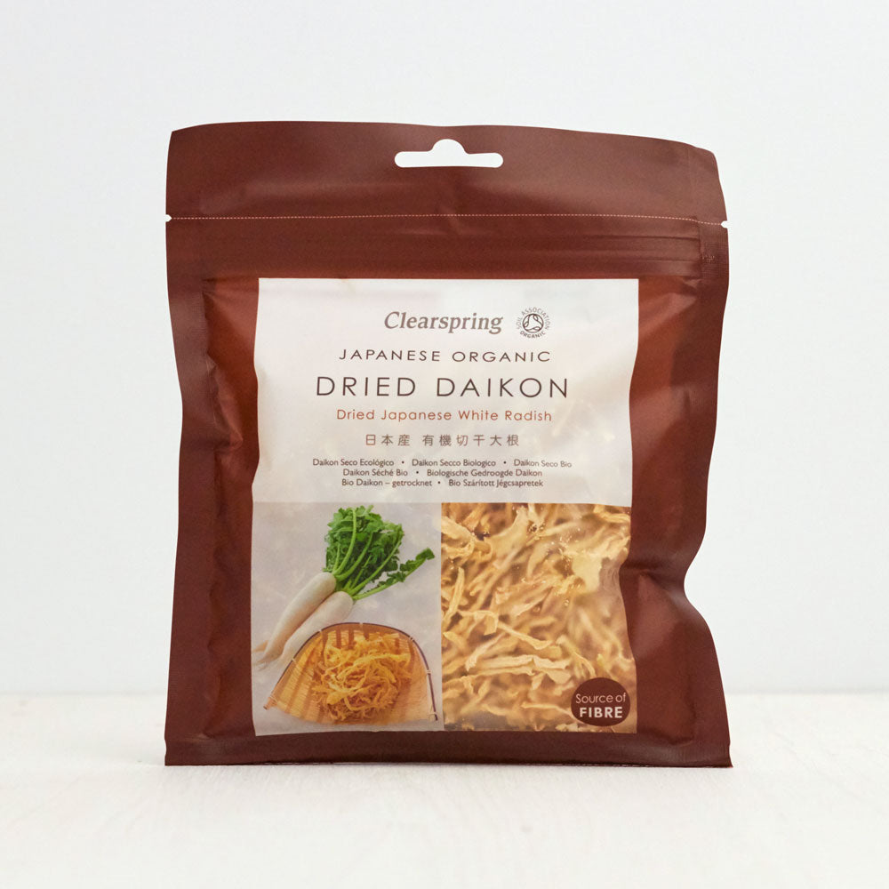 Organic Dried Daikon - Dried Japanese White Radish