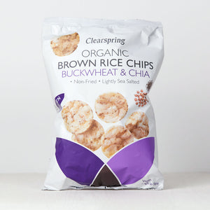 Organic Brown Rice Chips - Buckwheat & Chia