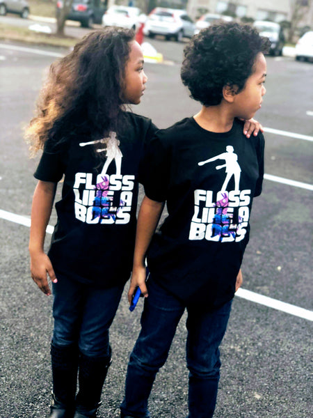 Floss Like a Boss - Fortnite Children's Tees