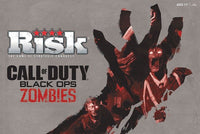 RISK Call of Duty Black Ops Zombies Board Game Rare