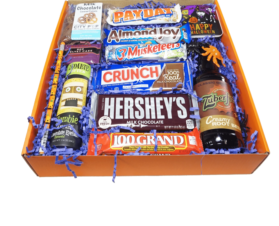 Halloween Big Bar Fun Box