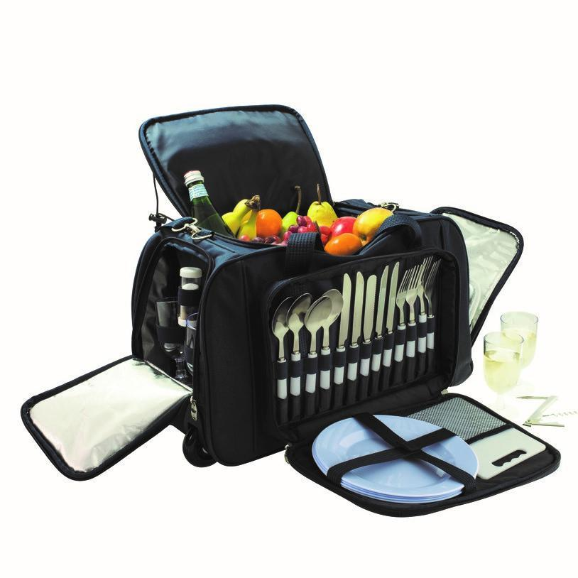 Four Person Trolley Picnic Bag