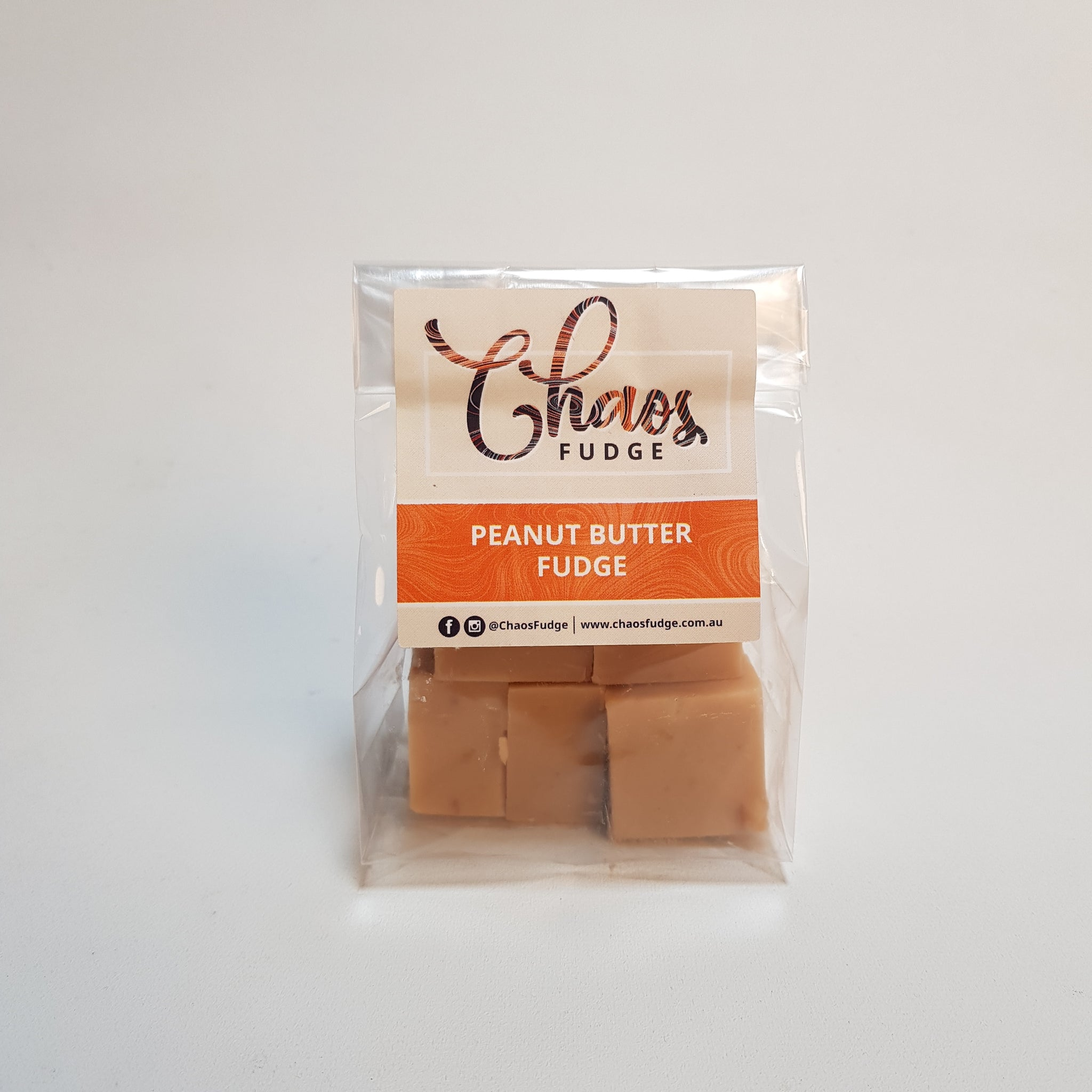 Chaos Peanut Butter Fudge