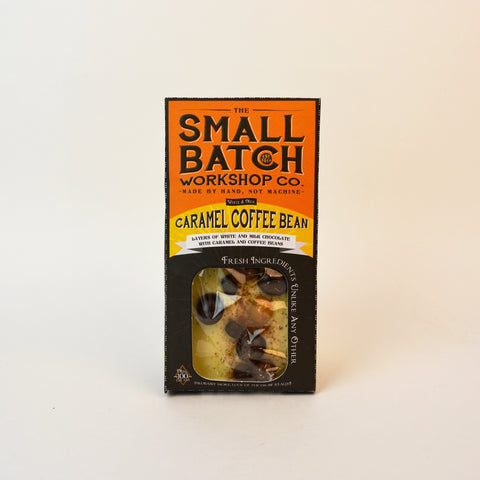 The Small Batch Co. Caramel Coffee Bean BAR 100g