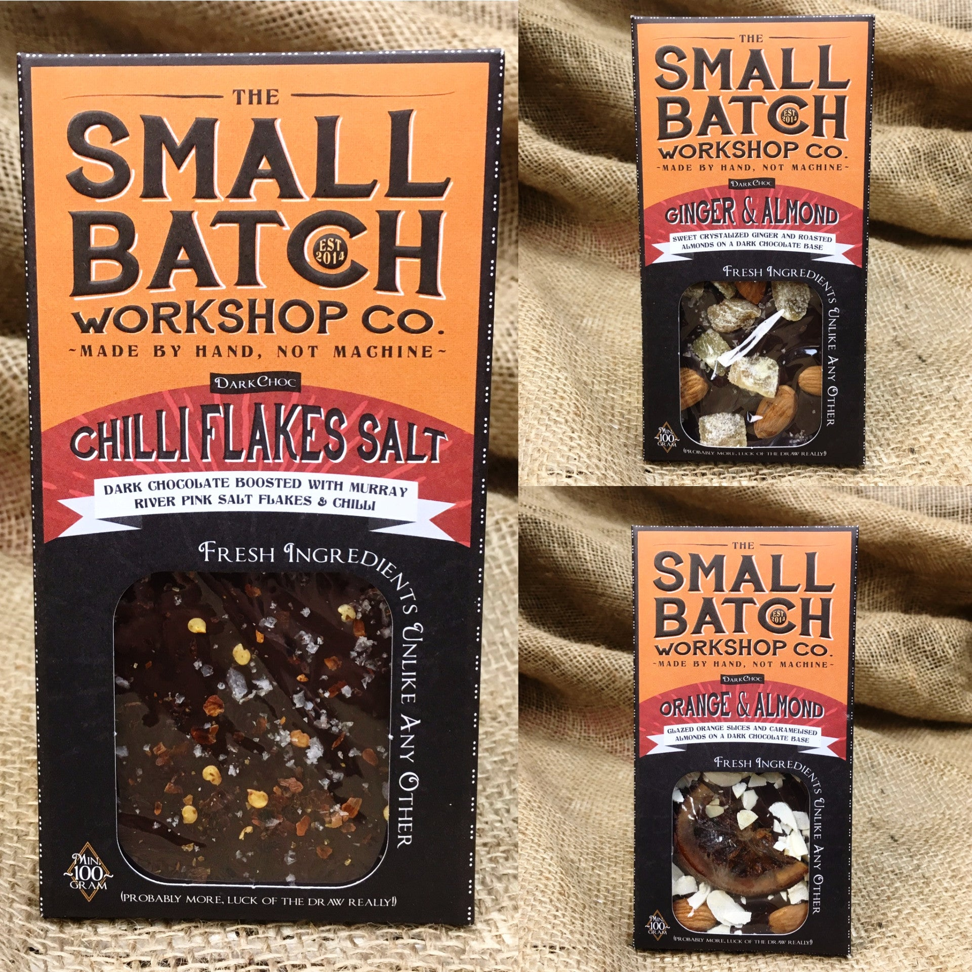 Small Batch Chocolate Bar Pack of 10