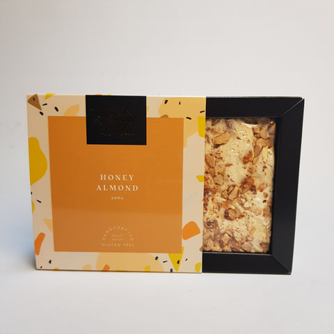 Nougat and Nice Honey Almond Gift Box 200g