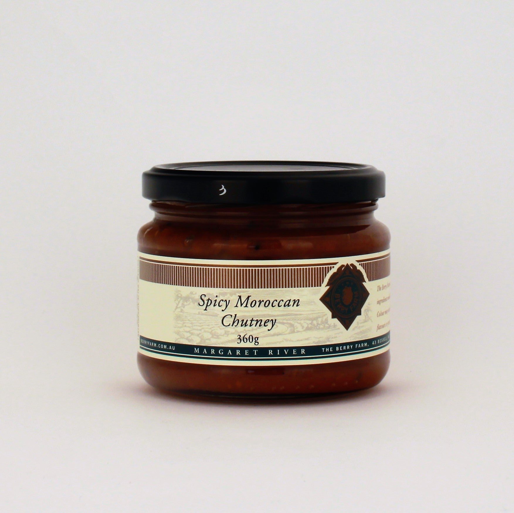 The Berry Farm Spicy Moroccan Chutney 360g