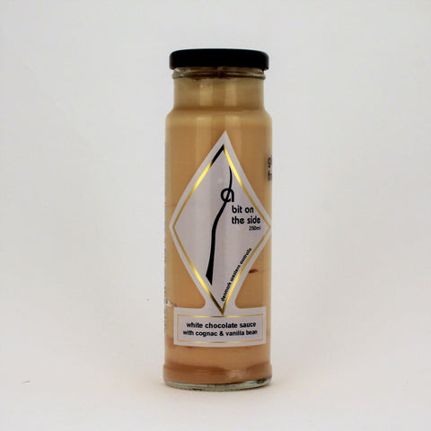 BOS White Chocolate Cognac Sauce 250ml