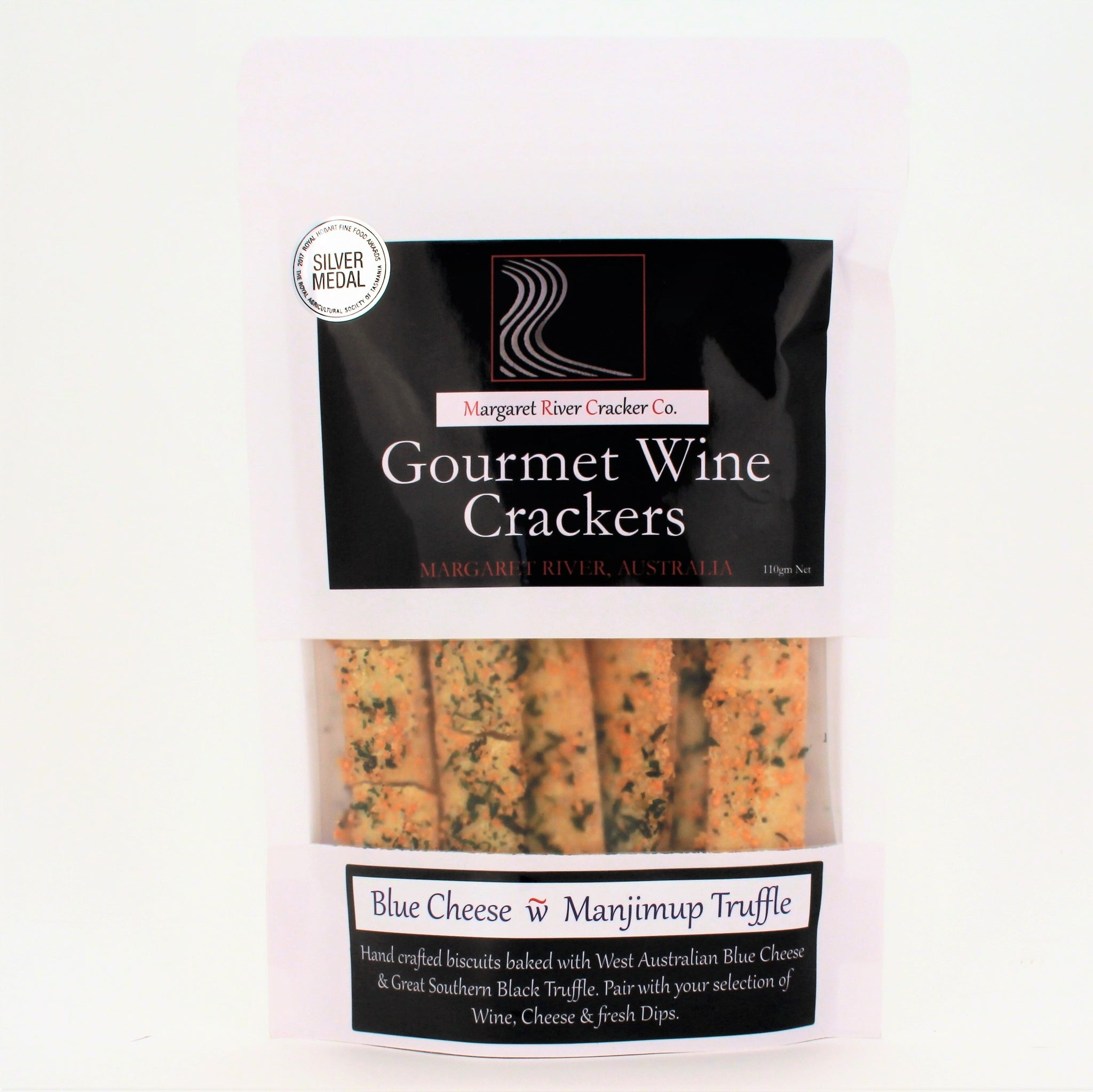 Gourmet Wine Crackers BLUE CHEESE TRUFFLE 110g