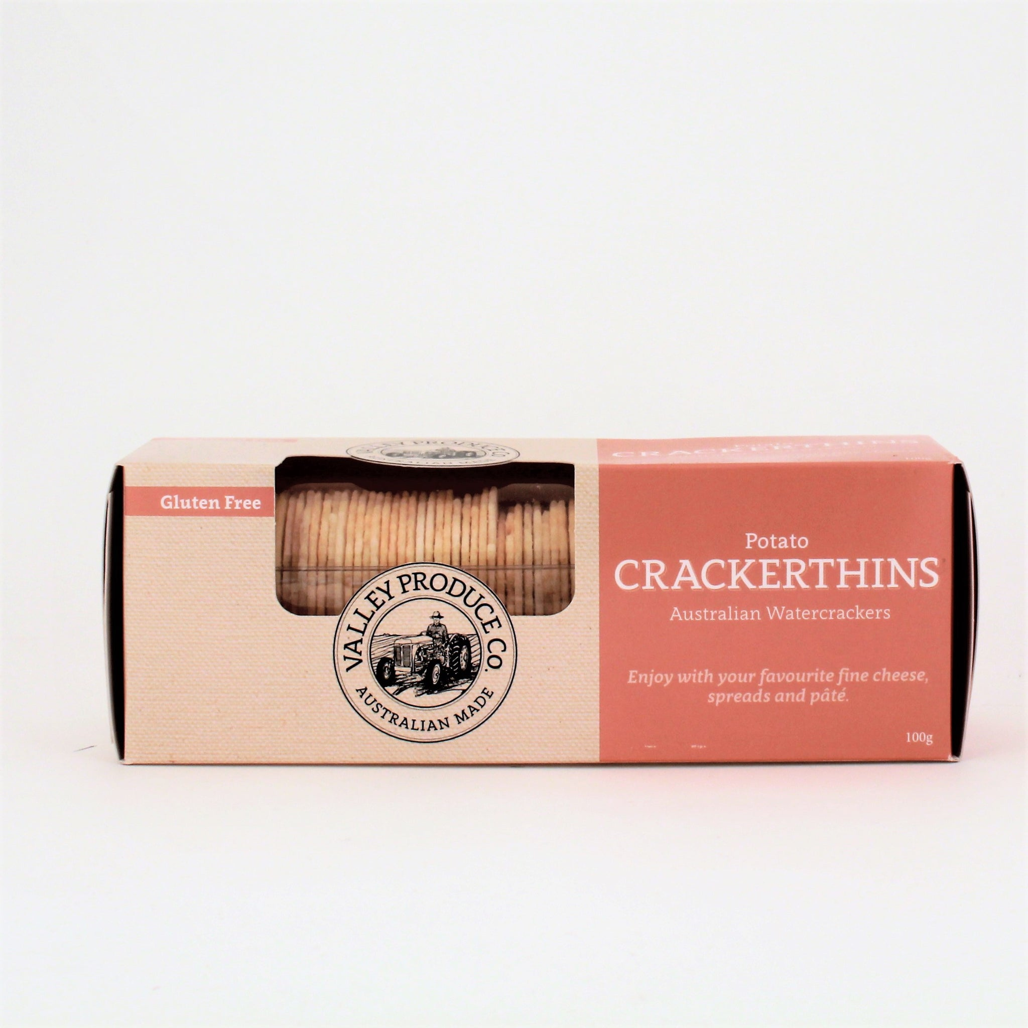 Valley Produce Co. Potato Crackerthins 100g