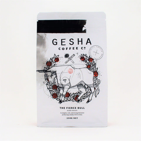 Gesha FIERCE BULL Ground 250g