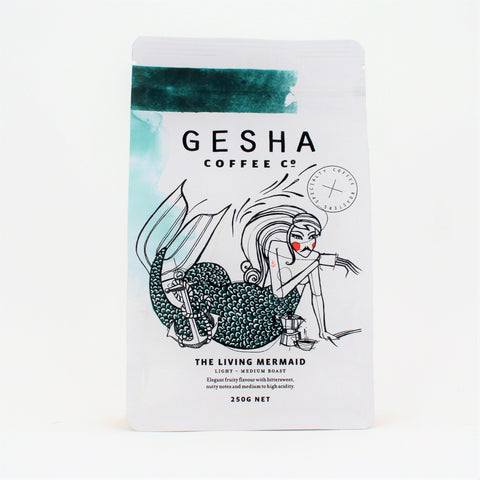 Gesha LIVING MERMAID Beans 250g