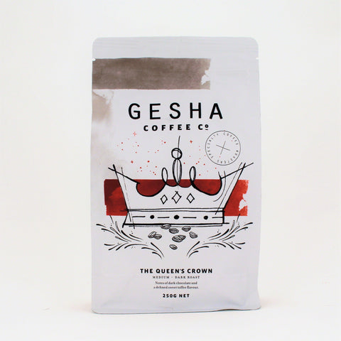 Gesha QUEENS CROWN Beans 250g
